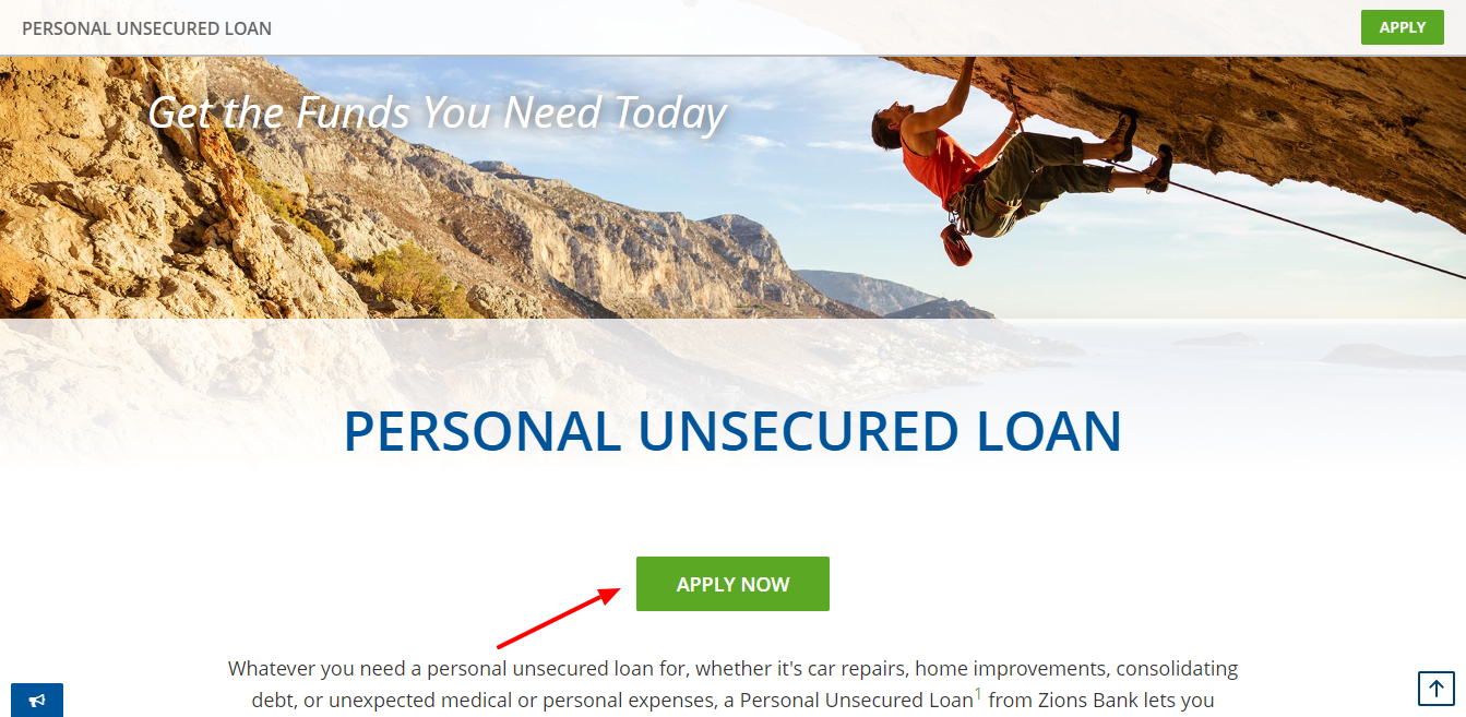 Zions Bank Personal Unsecured Loan Personal Loans