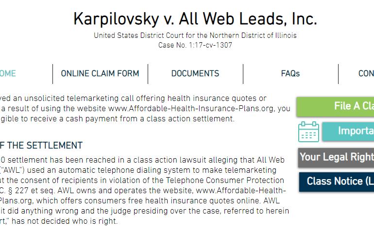 AWL Lawsuit