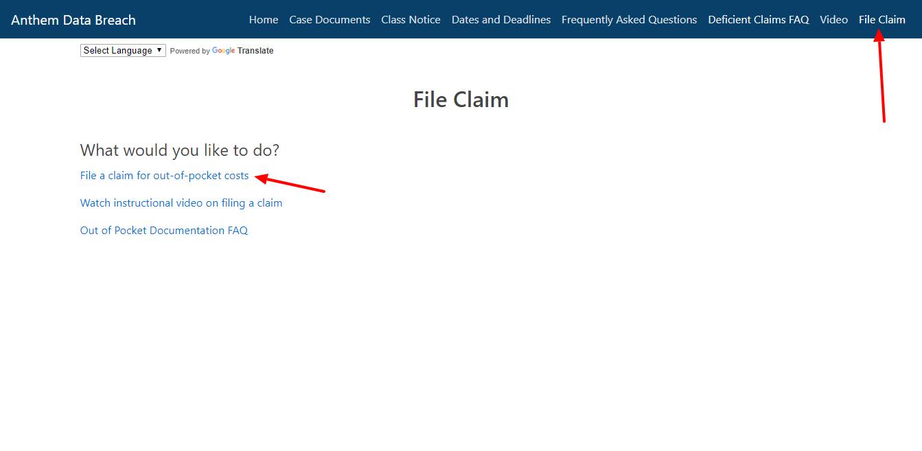 File Claim