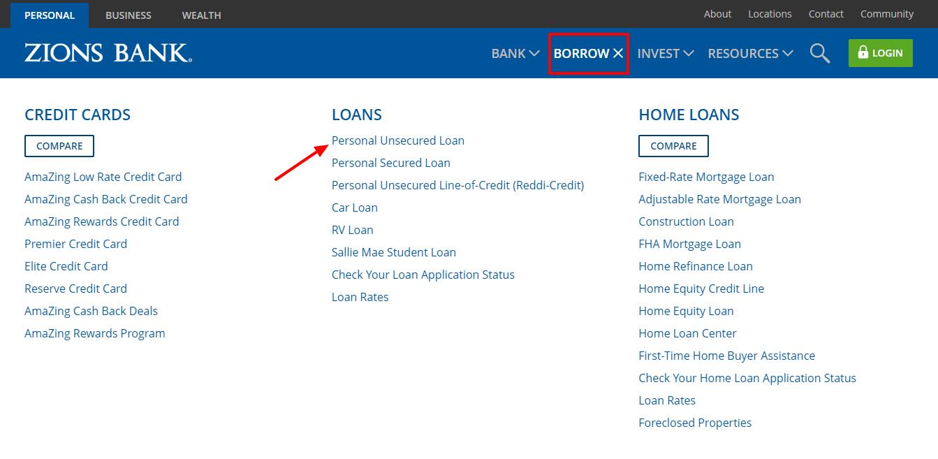 Zions Bank Personal Banking Savings Checking Loans