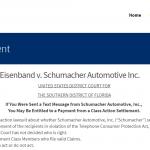 Schumacher TCPA Settlement
