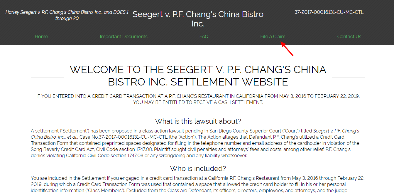 www seegertvpfchangssettlement com - How to File a Claim for