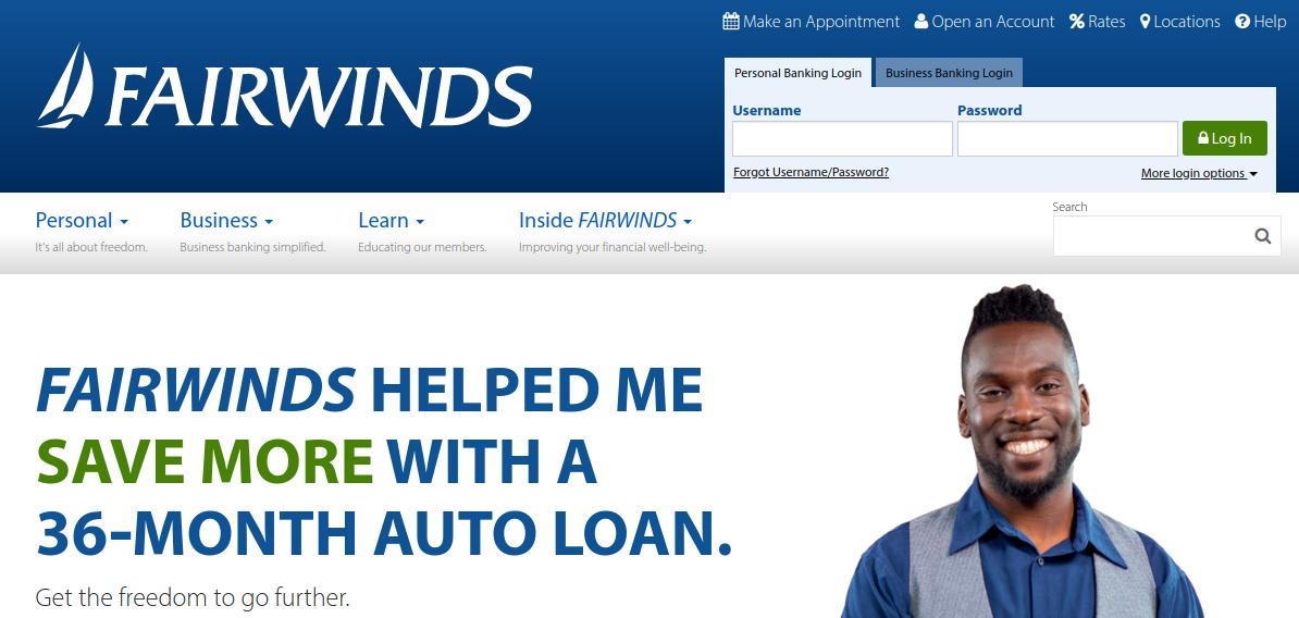 FAIRWINDS Credit Union Logo