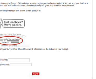 target customer survey