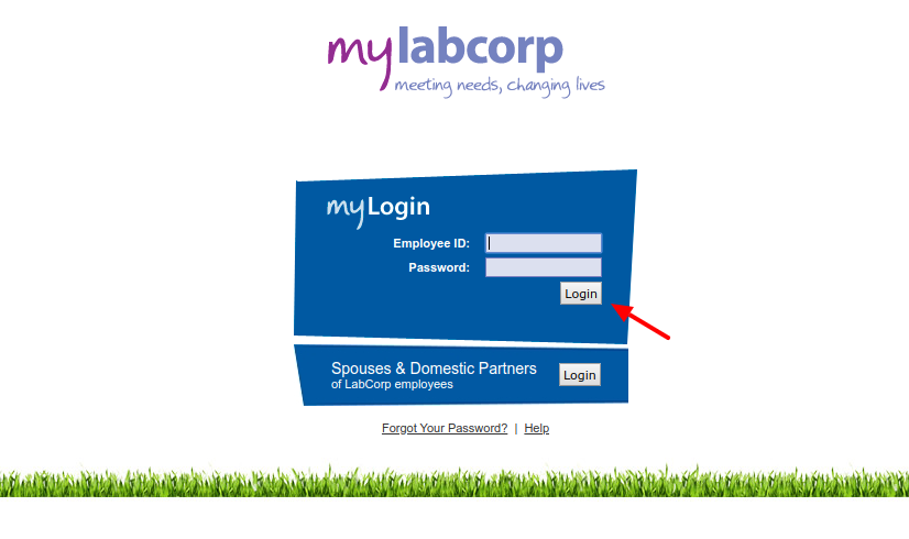 mylabcorp Login