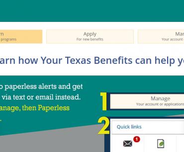 Your Texas Benefits Logo