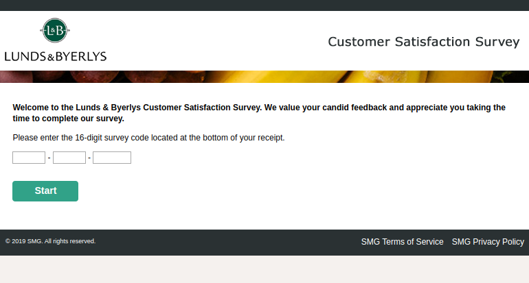 Lunds Byerlys Customer Satisfaction Survey