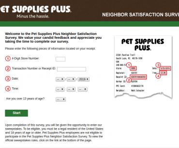 Neighbor Satisfaction Survey