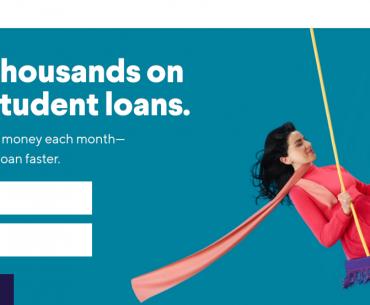 Refinance Student Loans with SoFi Logo