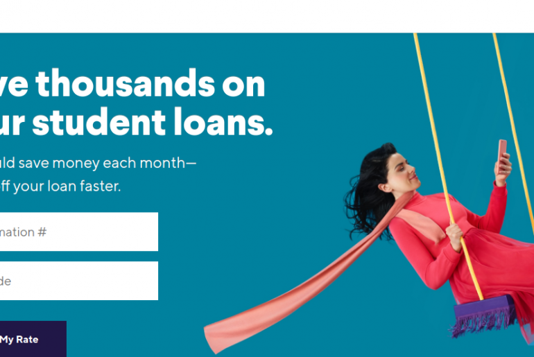Refinance Student Loans with SoFi Logo
