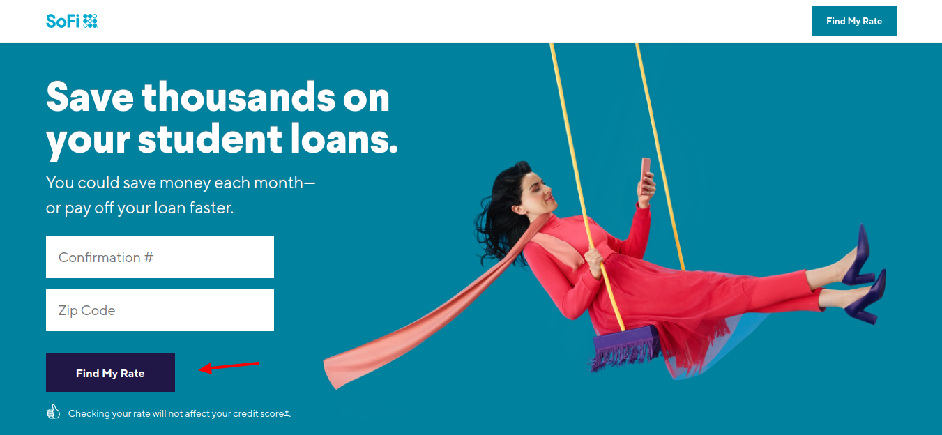 Refinance Student Loans with SoFi Rate