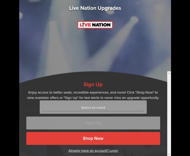 livenation expapp signUp