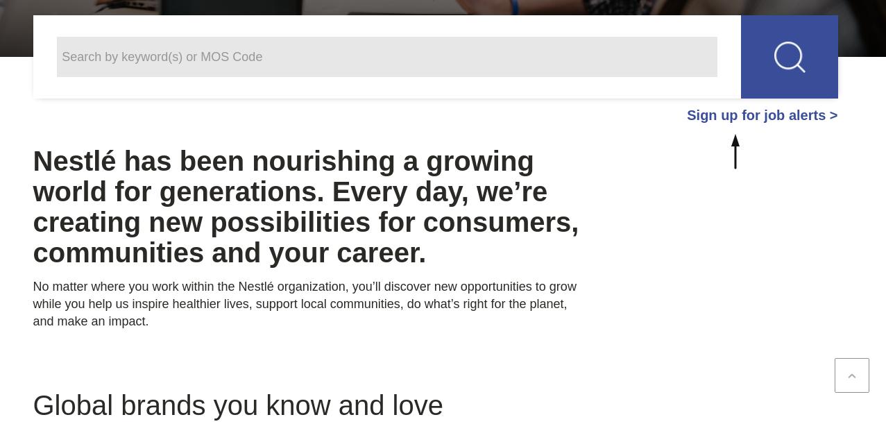 Nestle Job Apply