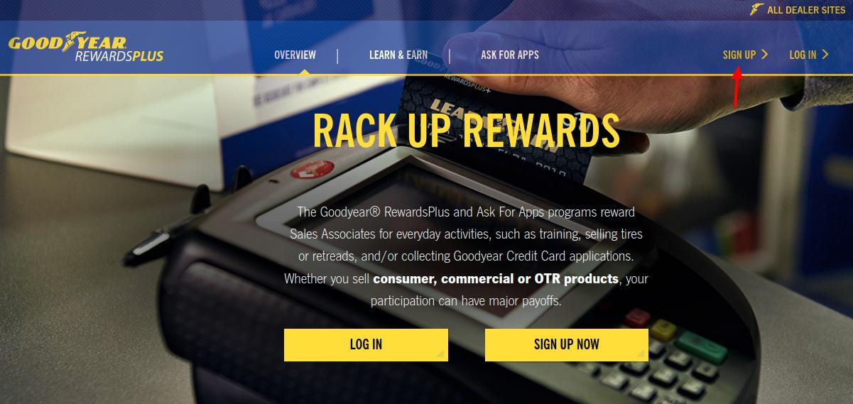 Rewards Plus Sign Up