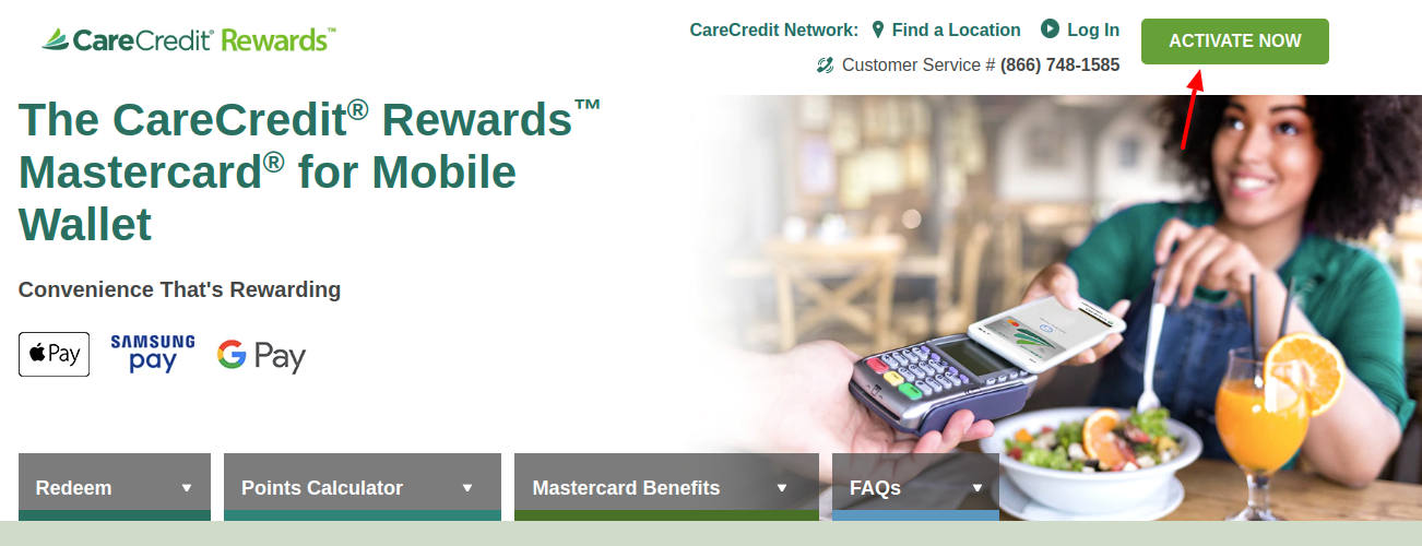 CareCredit Rewards Activate