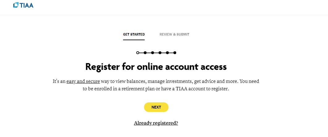 TIAA Online Account Login