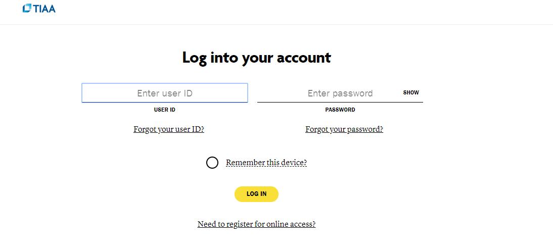 tiaa.org secure login