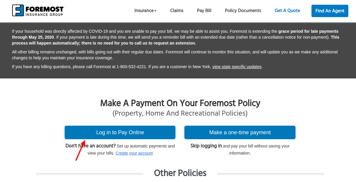 Foremost Insurance Login