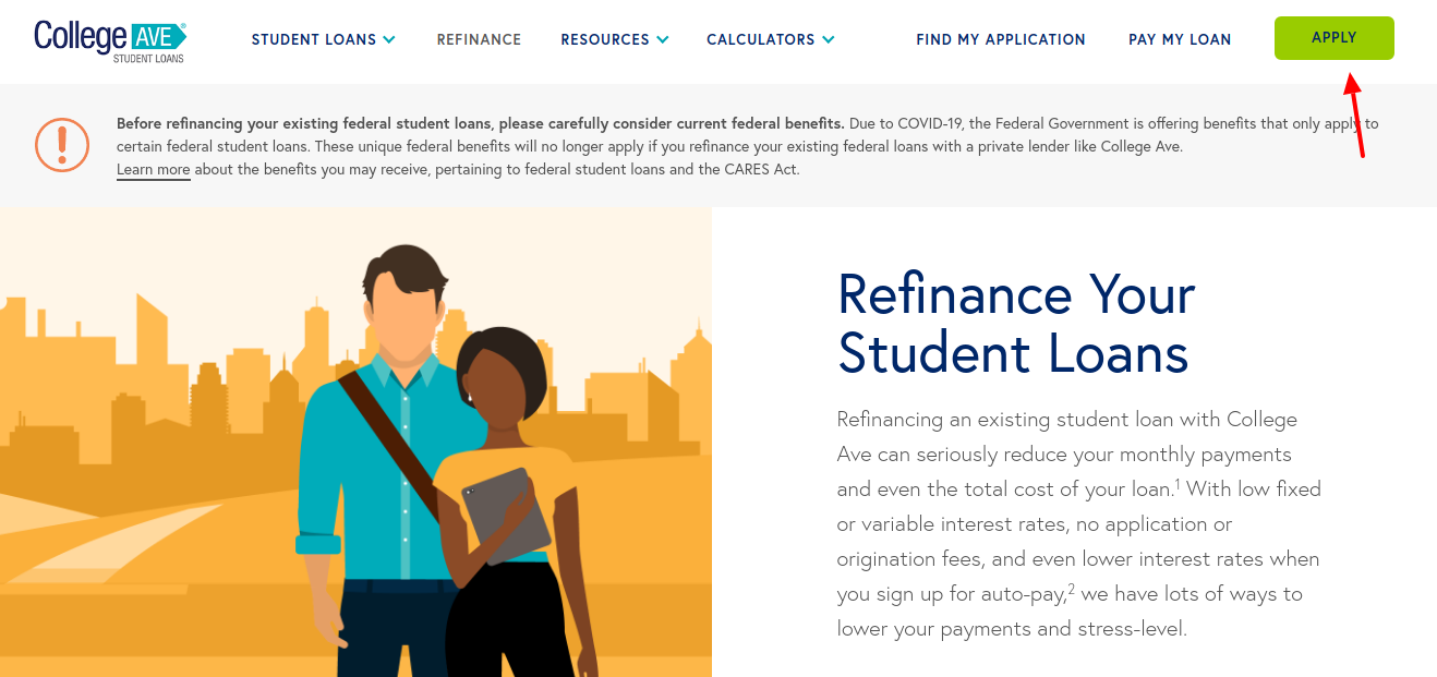 Refinance Federal Student Loans Apply