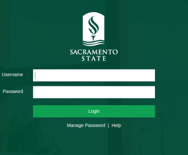 My Sac State Login