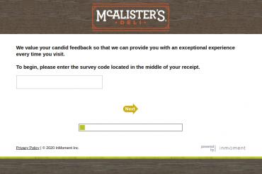 McAlister Survey