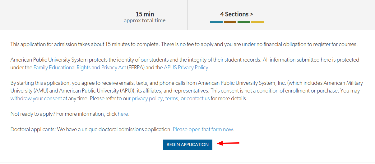 amu student apply