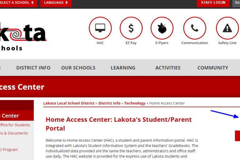 Login Guide for Lakota Hac Account
