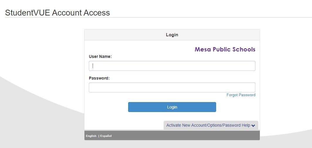 Mpsaz portal Student login Guide