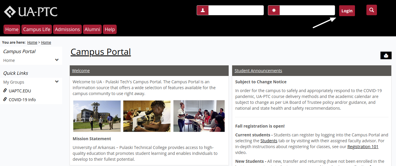 ua PTC portal login