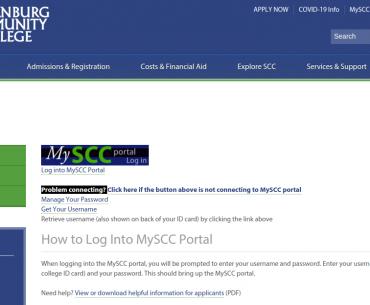 MySCC Portal Logo
