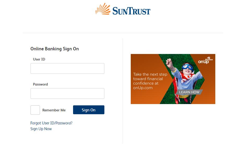 Your SuntrustBank Account