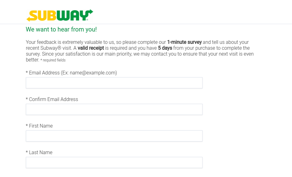 Global Subway Survey