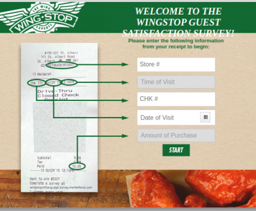 Wingstop Guest Survey