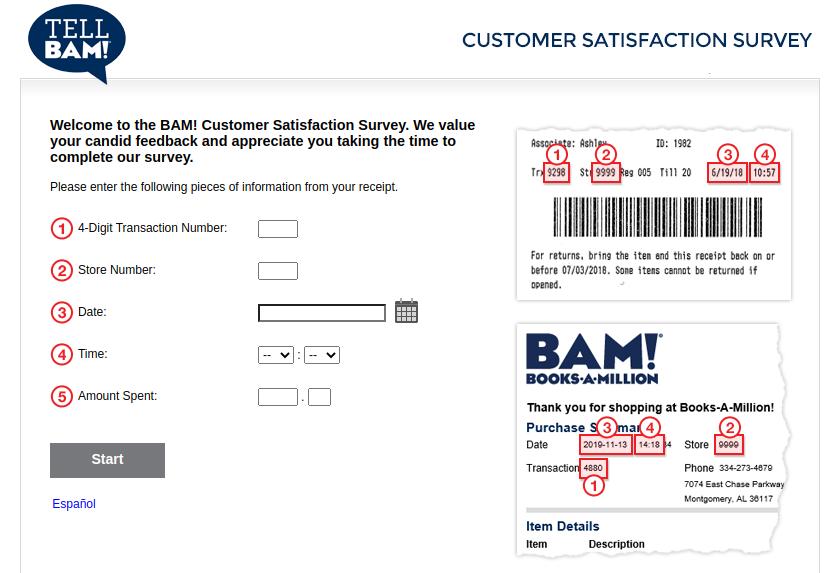 BAM Survey