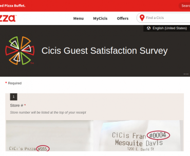 Cicis Survey