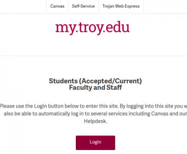 troy edu blackboard login