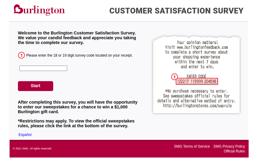 Burlington Survey