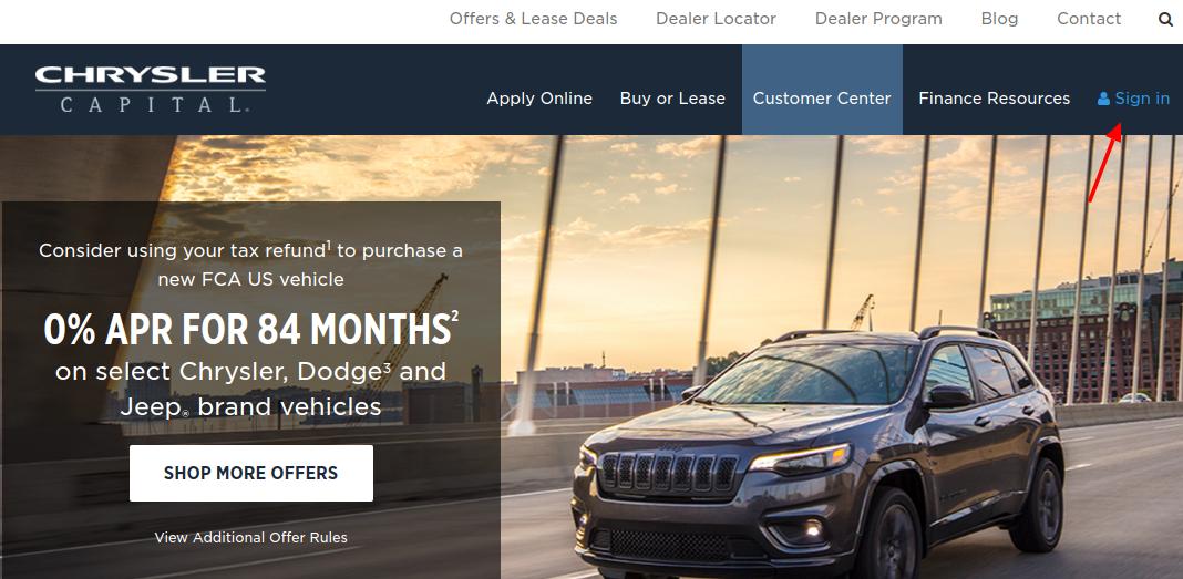 Chrysler Capital Login