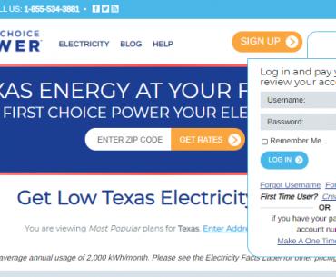 First Choice Power Bill Pay