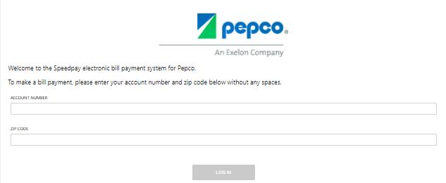 Pepco Pay My Bill