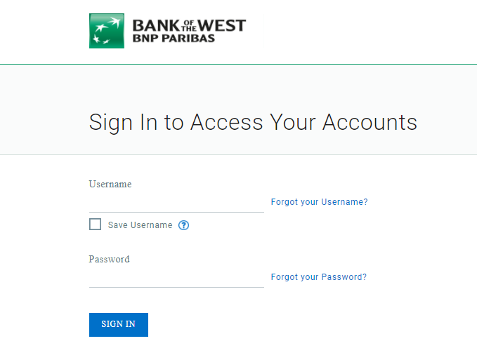 Bank of the West Bill Pay